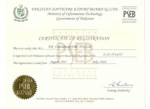 Pakistan Software Export Board Registration