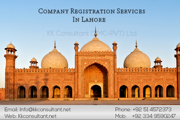 Company Registration In Lahore