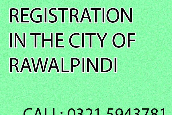 Partnership Registration in Rawalpindi