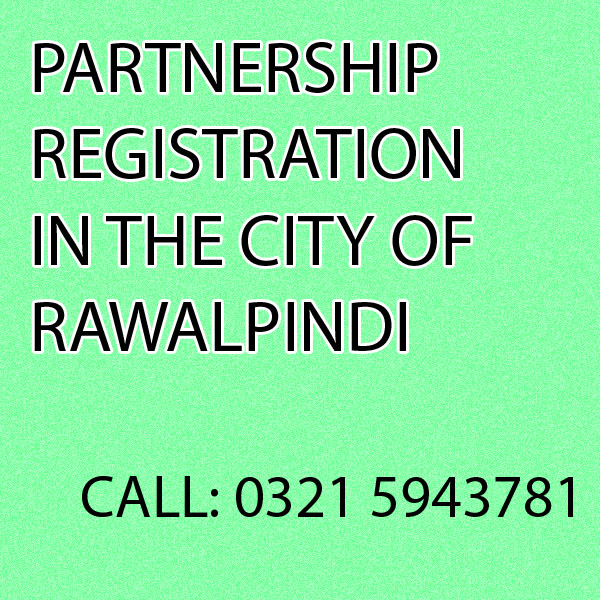 Partnership Registration in Rawalpindi