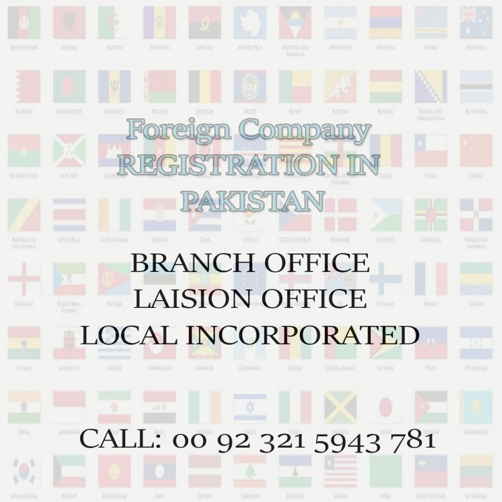 Foreign Company Registration in Pakistan